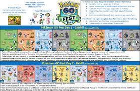 Pokemon GO Fest 2021 - Detailed View ...