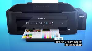 Epson L365 All In One Inktank Printer Youtube