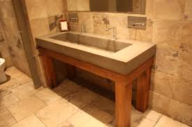 diy concrete trough sink home design ideas and pictures