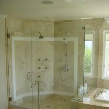 glass shower walls provides the greatest clarity to showcase with glass shower wall prepare 18