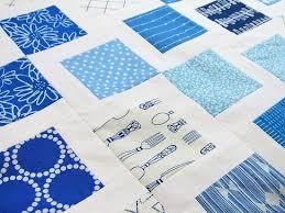 Modern Log Cabin – A Kentucky / UNC Blue and White Quilt Top ... & Blue and White Quilt Top - 4 Adamdwight.com