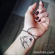 фото тату ласточка для девушки 24122018 282 Tattoo Swallow For
