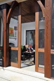 doors sliding screen patio door sliding screen door dark wood framed sliding glass door