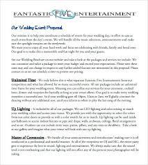 Sample Letter For Event Proposal Event Proposal Sample Sports Event Management Proposal Event