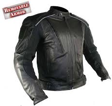 men s advanced armored padded black motorcycle jacket b9119