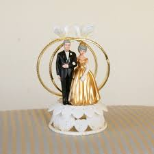 50th Anniversary Cupcake Decorations Cake Topper 50th Wedding Anniversary Wilton Plastic Hong