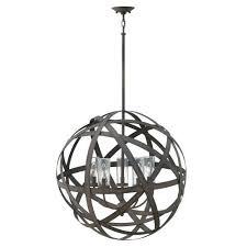 hinkley lighting 29705vi carson 5 light 26 1 4 tall cage outdoor