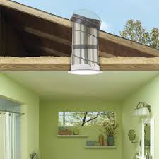 skylight lighting. a highly reflective rigid tunnel provides the brightest light skylight lighting