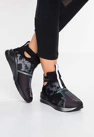 puma high tops womens. puma fierce strap swan - high-top trainers black women shoes puma high tops womens p