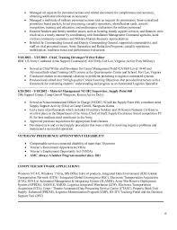 92A Job Description Resume