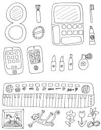 Makeup Coloring Pages To Print Find Here More Than 100k Best 1600
