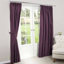 Purple Curtains For Living Room Purple Blackout Curtains Dark Gorgeous And Will Add Plenty Of