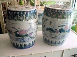 ceramic garden seat. beautiful material girls blog ceramic garden seat