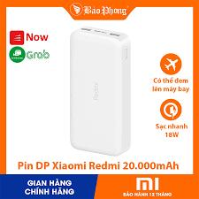 Pin dự Phòng Xiaomi Redmi 20000mAh Sạc Nhanh PD18w fast charging version-  Hàng Chính Hãng tốt giá rẻ