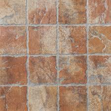 floors 2000 12 pack old world red glazed porcelain indoor outdoor floor tile