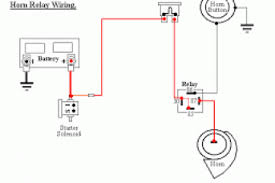 motorcycle horn relay wiring diagram 4k wallpapers 4 pin horn relay wiring at Bosch Horn Relay Wiring Diagram