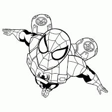 25 Ontwerp Kleurplaat Spiderman Mandala Kleurplaat Voor Kinderen