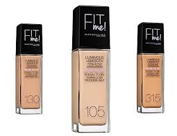 Maybelline Fit Me Foundation Shade Chart Shades Of Beauty Shades Of K
