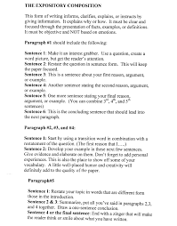 Cover Letter Example Of A Essay Format Example Of A Essay Format