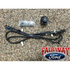 thru ford super duty f f oem ford parts fog lamp light click here to enlarge