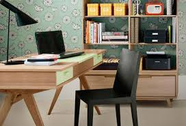 retro home office. Already Have A Home Office Which Is In Need Of An Update Or Looking To Convert Spare Bedroom Workspace? Retro Look Like This Will Certainly E