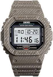 Mens Outdoor Sport Watch Men Digital Watch 5Bar ... - Amazon.com