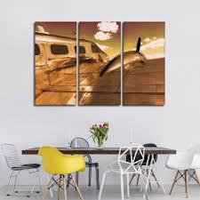on flight canvas wall art with gold flight multi panel canvas wall art elephantstock