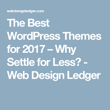 Why Settle For Less The Best WordPress Themes For 24 Why Settle For Less Wordpress 20