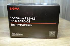 Обзор от покупателя на <b>Объектив Sigma AF</b> 18-250mm f/3.5-6.3 ...