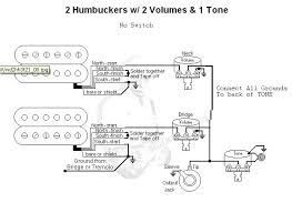 why no diagrams for 2 volume 1 tone out a switch i borrowed this from the guitarelectronics com site pretend the jagged line is connected it s the best i could do