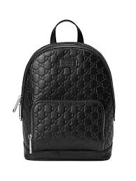 gucci gucci signature leather backpack 1 850 aw19 quick