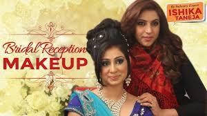 indian bridal reception makeup by ishika taneja
