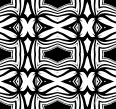 Abstract Art Black And White Patterns Pattern Black White Ornament Abstract Art Print No 40