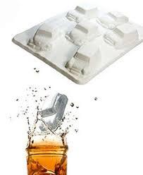 Decorative Ice Cube Trays 60cavities Cute Mini Car Model Shape Decorative Mini Ice Cube Tray 42