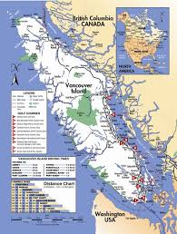 Vancouver Island Road Map Vancouver Island Bc Mappery