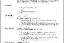 Modern Dance Resume Creative Resume Templates Dancer Resume Examples Bino 9terrains Co