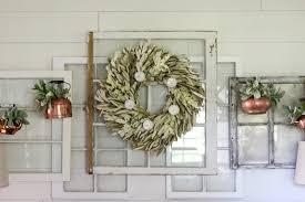 cottonstem com vintage layered windows fall decor shiplap