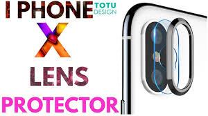 Totu Design China I Phone X Camera Lens Protector Totu Design