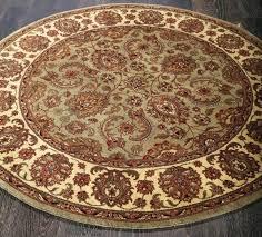 green round rug classics gold fl x runner