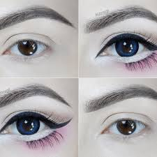 big anime eyes makeup tutorial