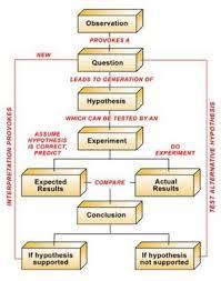 Scientific Method Chart Of Steps Scientific Method From Conservapedia Leftism