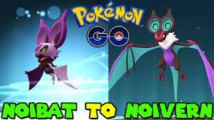 Evolving NOIBAT to NOIVERN in Pokemon Go - YouTube