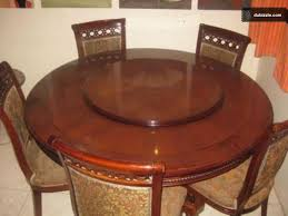 expandable revolving dining table design ideas