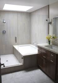 Bathtubs Idea, Corner Bathtub Shower Combo Corner Bathtub Shower Combo  Small Bathroom Minimalist Contemporary Bathroom ...