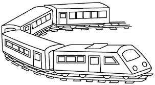 Small Picture Train Color Page Transportation Coloring Pages Color Plate