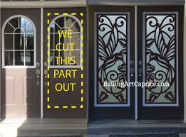 welcome to the amazing world of unique designs of door inserts from design studio art ca