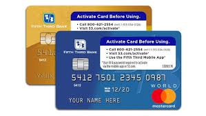 On Line Cards Activate Card Fifth Third Bank