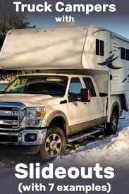 Truck Camper Size Chart Truck Campers With Slideouts With 7 Examples Vehicle Hq