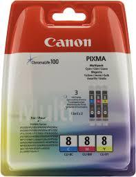 Оригинальные <b>картриджи</b> Canon CLI-8C (голубой), <b>CLI</b>-<b>8M</b> ...