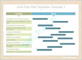 Example Of Research Work Writing A Plan Examples Template – Pitikih